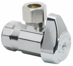 Brass Craft Service Parts G2R17X CD Chrome Angle Stop Valve, 1/2-In. x 3/8-In.