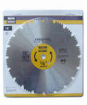 Disston 118760 10-In. Master Combination Steel Blade