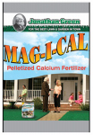 Jonathan Green & Sons 11347 Mag-I-Cal Pelletized Calcium Fertilizer, 1000 Sq. Ft. Coverage, 4.5-Lbs.