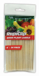 Luster Leaf 812 Wood Plant Labels, 6-In., 24-Pk.