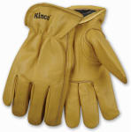 Kinco International 98RL L Full-Grain Cowhide Leather Glove, Lined, Men's Large