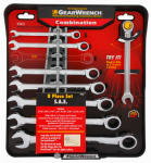 Apex Tool Group-Asia 120358 Ratcheting  Wrench Set, SAE 8-Pc.