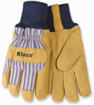 Kinco International 1927KW L Men's Premium Grain Pigskin Leather Palm Gloves, Large