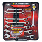 Apex Tool Group-Asia 485100 Ratcheting  Wrench Set, Metric 8-Pc.