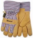 Kinco International 1927 L Large Men's Premium Grain Pigskin Leather Palm Gloves