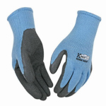Kinco International 1790W M Cold-Weather Work Gloves, Latex-Coated Blue Knit, Women's Medium