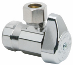Brass Craft Service Parts G2R07X CD Chrome Angle Stop Valve, 1/2 x 1/4-In.