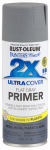 Rust-Oleum 249088 Painter's Touch 2X Spray Primer, Flat Gray, 12-oz.