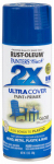 Rust-Oleum 249120 Painter's Touch 2X Spray Paint, Gloss Brilliant Blue, 12-oz.