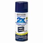 Rust-Oleum 249098 Painter's Touch 2X Spray Paint, Gloss Navy Blue, 12-oz.