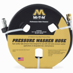 Mi T M AW-0050-0176 23-Ft. Wire Braided High Pressure Washer Extension Hose