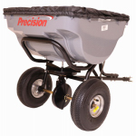Precision Products TBS4500PRCGY Capacity Tow Behind Broadcast Spreader, 100-Lb.
