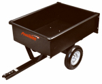 Precision Products LDT1002B Dump Cart, 10-Cu.Ft.