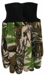 Midwest Quality Gloves 392AP-L Clute Cut Cotton Jersey Glove, Camo, Large