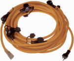 Marmon Home Improvement Prod 614-16367BB 6-Outlet Cord With LED, 12/3, 50-Ft.