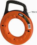 Klein Tools 56002 Depthfinder 1/8-Inch x .062 x 65-Ft. Steel Fish Tape