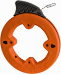 Klein Tools 56001 Depthfinder 1/8-Inch x .045 x 50-Ft. Steel Fish Tape