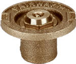 Champion Irrig Div Arrowhead Brass 17SQ 1.5-Inch Quarter-Circle Flush Sprinkler Head