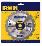 Irwin Industrial Tool 14020 Marathon Carbide Blade, 6.5-In., 18-Teeth