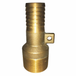 Water Source MAR9125NL Red Male Adapter, Brass, 1-1/4-In.