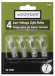 Southwire/Coleman Cable 95504 4-Pack 7-Watt Low-Voltage Light Bulbs, Clear
