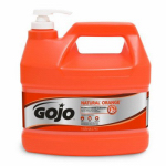 Gojo Industries 0955-02 Natural Orange Pumice Hand Cleaner, 1-Gallon