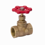 B & K/Mueller Inds(Import) 105-104NL Threaded Stop & Waste Valve, Lead-Free Brass, 3/4-In.