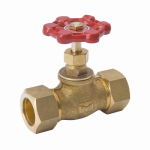 "Homewerks Worldwide 230-1-34-34 3/4"" CMP Brass Stop Valve"