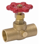 "Homewerks Worldwide 220-4-34-34 3/4"" Brass CxC S&W Valve"