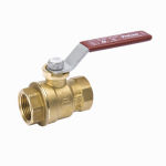 "Homewerks Worldwide 116-2-14-14 1/4""BRS THRD Ball Valve"