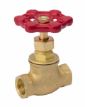 B&K 230-2-12-12 Stop Valve, Brass, 0.5-In.
