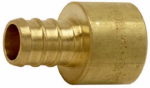Sharkbite/Cash Acme UC600LFA Sweat Adapter, Lead Free, .5 Brass Pex Barb x .5-In. Female