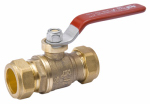 "Homewerks Worldwide 111-1-1-1 1""CMPxCMP Ball Valve"