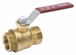 B&K 116-2-112-112 Full Port Ball Valve, Lead Free, Forged Brass, 1-1/2-In. FPT