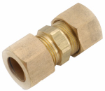 Anderson Metals 750062-04 Compression Full Union, Brass, 1/4-In.