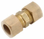 Anderson Metals 750062-14 Compression Union, Tube To Tube, Brass, 7/8-In.