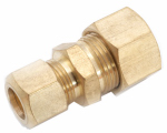 Anderson Metals 750082-0806 Reducing Union, Brass, 1/2-In. Compression x 3/8-In. Compression