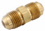 Anderson Metals 754042-06 Pipe Fitting, Flare Union, Lead-Free Brass, 3/8-In.
