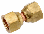 Anderson Metals 754070-04 Pipe Fittings, Flare Swivel Nut, Lead-Free Brass, 1/4-In.