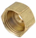 Anderson Metals 757411-1202 3/4-Inch Female Garden Hose x 1/8-Inch Female Iron Pipe Brass Adapter