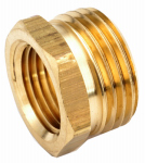Anderson Metals 757480-1212 3/4-Inch Male Garden Hose x 3/4-Inch Female Iron Pipe Brass Adapter