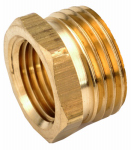 Anderson Metals 757480-1208 Pipe Fitting, Adapter, Lead-Free Brass, 3/4 MGH x 1/2-In. FIP