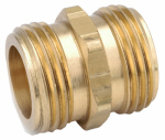 Anderson Metals 757486-121208 3/4-Inch Male Garden Hose x 3/4-Inch Male Garden Hose Tapped With 1/2-Inch Female Iron Pipe Brass Adapter