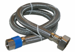 Larsen Supply 10-0137 3/8 Compression x 1/2 Female Iron Pipe x 36-Inch Stainless-Steel Faucet Connector