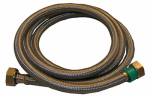 Larsen Supply 10-0461 1/2 Iron Pipe Size x 1/2 Iron Pipe x 60-Inch Stainless-Steel Faucet Connector