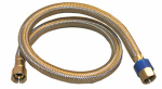 Larsen Supply 10-0960 Appliance and Faucet Connector, 3/8-In. Compression x 3/8-In. Compression x 24-In.