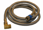 Larsen Supply 10-0973 Appliance and Faucet Connector, 3/8-In. Compression x 3/8-In. Compression x 72-In.