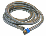 Larsen Supply 10-0996 Appliance & Faucet Connector, 3/8-In. x 3/8-In. Compression x 96-In.