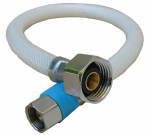 Larsen Supply 10-2121 Faucet Connector, Flexible Poly, 3/8-In. Compression x 1/2-In. Iron Pipe x 20-In.