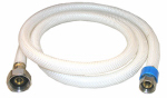 Larsen Supply 10-2131 3/8 Compression x 1/2 Iron Pipe x 30-Inch Flexible Poly Faucet Connector